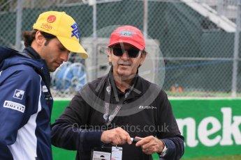 World © Octane Photographic Ltd. Sauber F1 Team – Felipe Nasr. Sunday 12th June 2016, F1 Canadian GP Drivers' parade, Circuit Gilles Villeneuve, Montreal, Canada. Digital Ref :1591LB1D3061
