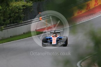 World © Octane Photographic Ltd. Manor Racing MRT05 - Pascal Wehrlein. Friday 10th June 2016, F1 Canadian GP Practice 1, Circuit Gilles Villeneuve, Montreal, Canada. Digital Ref : 1586LB1D9690