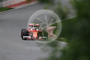 World © Octane Photographic Ltd. Scuderia Ferrari SF16-H – Kimi Raikkonen. Friday 10th June 2016, F1 Canadian GP Practice 1, Circuit Gilles Villeneuve, Montreal, Canada. Digital Ref : 1586LB1D9700