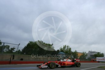 World © Octane Photographic Ltd. Scuderia Ferrari SF16-H – Sebastian Vettel. Saturday 11th June 2016, F1 Canadian GP Practice 3, Circuit Gilles Villeneuve, Montreal, Canada. Digital Ref :1588LB5D9915