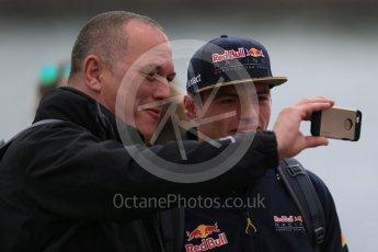 World © Octane Photographic Ltd. Red Bull Racing – Max Verstappen. Sunday 12th June 2016, F1 Canadian GP Paddock, Circuit Gilles Villeneuve, Montreal, Canada. Digital Ref :1590LB1D2366