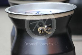 World © Octane Photographic Ltd. Red Bull Racing RB12 tyre valve. Tuesday 17th May 2016, F1 Spanish In-season testing, Circuit de Barcelona Catalunya, Spain. Digital Ref : 1555CB1D2228