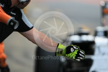 World © Octane Photographic Ltd. Sahara Force India VJM09 – Alfonso Celis. Tuesday 17th May 2016, F1 Spanish In-season testing, Circuit de Barcelona Catalunya, Spain. Digital Ref : 1555CB1D2435