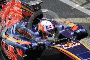 World © Octane Photographic Ltd. Scuderia Toro Rosso STR11 – Pierre Gasly. Tuesday 17th May 2016, F1 Spanish In-season testing, Circuit de Barcelona Catalunya, Spain. Digital Ref : 1555CB1D2695