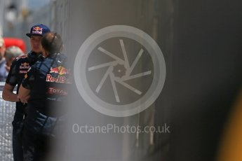 World © Octane Photographic Ltd. Red Bull Racing - Max Verstappen. Tuesday 17th May 2016, F1 Spanish In-season testing, Circuit de Barcelona Catalunya, Spain. Digital Ref : 1555LB1D9461
