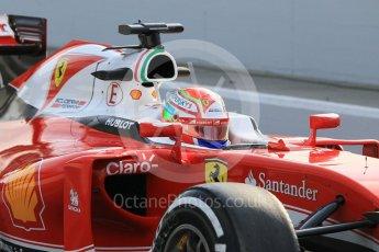 World © Octane Photographic Ltd. Scuderia Ferrari SF16-H – Antonio Fuoco. Wednesday 18th May 2016, F1 Spanish GP In-season testing, Circuit de Barcelona Catalunya, Spain. Digital Ref : 1556CB1D3514