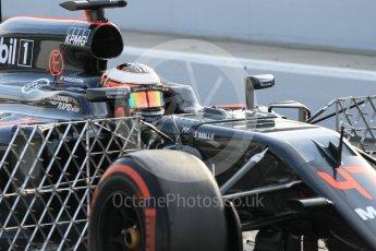 World © Octane Photographic Ltd. McLaren Honda MP4-31 – Stoffel Vandoorne. Wednesday 18th May 2016, F1 Spanish GP In-season testing, Circuit de Barcelona Catalunya, Spain. Digital Ref : 1556CB1D3658