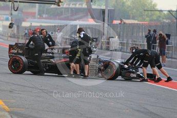 World © Octane Photographic Ltd. McLaren Honda MP4-31 – Stoffel Vandoorne. Wednesday 18th May 2016, F1 Spanish GP In-season testing, Circuit de Barcelona Catalunya, Spain. Digital Ref : 1556CB1D3677