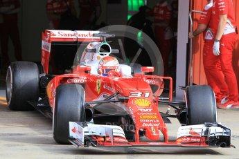 World © Octane Photographic Ltd. Scuderia Ferrari SF16-H – Antonio Fuoco. Wednesday 18th May 2016, F1 Spanish GP In-season testing, Circuit de Barcelona Catalunya, Spain. Digital Ref : 1556CB1D3749