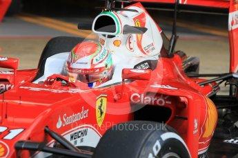 World © Octane Photographic Ltd. Scuderia Ferrari SF16-H – Antonio Fuoco. Wednesday 18th May 2016, F1 Spanish GP In-season testing, Circuit de Barcelona Catalunya, Spain. Digital Ref : 1556CB1D3752