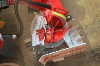 World © Octane Photographic Ltd. Scuderia Ferrari SF16-H – Antonio Fuoco. Wednesday 18th May 2016, F1 Spanish GP In-season testing, Circuit de Barcelona Catalunya, Spain. Digital Ref : 1556CB1D3811