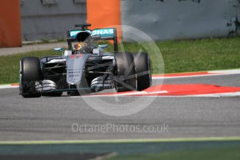 World © Octane Photographic Ltd. Mercedes AMG Petronas W07 Hybrid – Pascal Wehrlein. Wednesday 18th May 2016, F1 Spanish In-season testing, Circuit de Barcelona Catalunya, Spain. Digital Ref :
