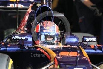 World © Octane Photographic Ltd. Scuderia Toro Rosso STR11 – Daniil Kvyat. Wednesday 18th May 2016, F1 Spanish GP In-season testing, Circuit de Barcelona Catalunya, Spain. Digital Ref : 1556CB7D9105