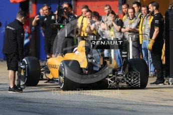 World © Octane Photographic Ltd. Renault Sport F1 Team RS16 – Kevin Magnussen. Wednesday 18th May 2016, F1 Spanish GP In-season testing, Circuit de Barcelona Catalunya, Spain. Digital Ref : 1556CB7D9145