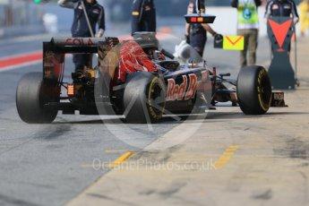 World © Octane Photographic Ltd. Scuderia Toro Rosso STR11 – Daniil Kvyat. Wednesday 18th May 2016, F1 Spanish GP In-season testing, Circuit de Barcelona Catalunya, Spain. Digital Ref : 1556CB7D9174