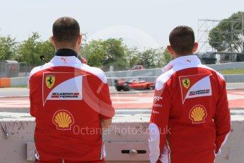 World © Octane Photographic Ltd. Scuderia Ferrari SF16-H – Antonio Fuoco. Wednesday 18th May 2016, F1 Spanish GP In-season testing, Circuit de Barcelona Catalunya, Spain. Digital Ref : 1556CB7D9492