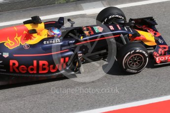 World © Octane Photographic Ltd. Red Bull Racing RB12 – Max Verstappen. Wednesday 18th May 2016, F1 Spanish GP In-season testing, Circuit de Barcelona Catalunya, Spain. Digital Ref : 1556CB7D9509
