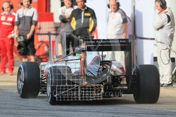 World © Octane Photographic Ltd. Haas F1 Team VF-16 - Esteban Gutierrez. Wednesday 18th May 2016, F1 Spanish GP In-season testing, Circuit de Barcelona Catalunya, Spain. Digital Ref : 1556LB1D0297