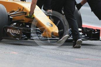 World © Octane Photographic Ltd. Renault Sport F1 Team RS16 – Kevin Magnussen. Wednesday 18th May 2016, F1 Spanish GP In-season testing, Circuit de Barcelona Catalunya, Spain. Digital Ref : 1556LB1D0446