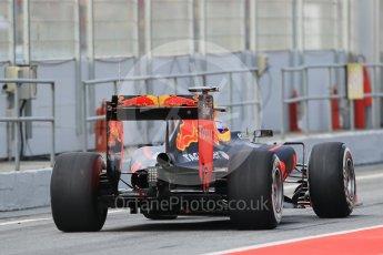World © Octane Photographic Ltd. Red Bull Racing RB12 – Max Verstappen. Wednesday 18th May 2016, F1 Spanish GP In-season testing, Circuit de Barcelona Catalunya, Spain. Digital Ref : 1556LB1D0518
