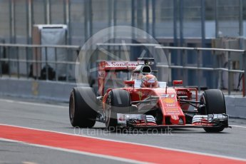 World © Octane Photographic Ltd. Scuderia Ferrari SF16-H – Antonio Fuoco. Wednesday 18th May 2016, F1 Spanish GP In-season testing, Circuit de Barcelona Catalunya, Spain. Digital Ref : 1556LB1D0529