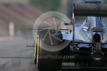 World © Octane Photographic Ltd. Mercedes AMG Petronas W07 Hybrid – Pascal Wehrlein. Wednesday 18th May 2016, F1 Spanish In-season testing, Circuit de Barcelona Catalunya, Spain. Digital Ref : 1556LB1D0631
