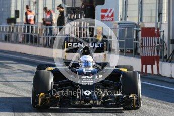 World © Octane Photographic Ltd. Renault Sport F1 Team RS16 – Kevin Magnussen. Tuesday 1st March 2016, F1 Winter testing, Circuit de Barcelona Catalunya, Spain, Day 5. Digital Ref : 1508LB1D4161