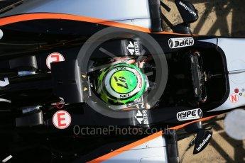World © Octane Photographic Ltd. Sahara Force India VJM09 - Nico Hulkenberg. Tuesday 1st March 2016, F1 Winter testing, Circuit de Barcelona Catalunya, Spain, Day 5. Digital Ref : 1508LB1D4855