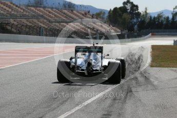 World © Octane Photographic Ltd. Mercedes AMG Petronas W07 Hybrid – Lewis Hamilton. Tuesday 1st March 2016, F1 Winter testing, Circuit de Barcelona Catalunya, Spain, Day 5. Digital Ref : 1508LB1D4925