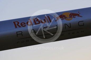 World © Octane Photographic Ltd. Red Bull Racing Logo. Tuesday 1st March 2016, F1 Winter testing, Circuit de Barcelona Catalunya, Spain, Day 5. Digital Ref : 1508LB5D8881
