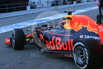 World © Octane Photographic Ltd. Red Bull Racing-TAG Heuer RB12 – Daniil Kvyat. Tuesday 1st March 2016, F1 Winter testing, Circuit de Barcelona Catalunya, Spain, Day 5. Digital Ref : 1508LB5D8893