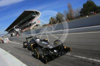 World © Octane Photographic Ltd. Renault Sport F1 Team RS16 – Kevin Magnussen. Tuesday 1st March 2016, F1 Winter testing, Circuit de Barcelona Catalunya, Spain, Day 5. Digital Ref : 1508LB5D9179