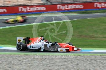 World © Octane Photographic Ltd. MP Motorsport - GP2/11 – Daniel de Jong. Friday 29th July 2016, GP2 Practice, Hockenheim, Germany. Digital Ref :1660CB1D0955
