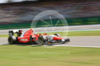World © Octane Photographic Ltd. Arden International - GP2/11 – Jimmy Eriksson. Friday 29th July 2016, GP2 Qualifying, Hockenheim, Germany. Digital Ref :1662CB5D9904