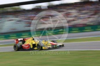 World © Octane Photographic Ltd. Pertamina Campos Racing - GP2/11 – Sean Gelael. Friday 29th July 2016, GP2 Qualifying, Hockenheim, Germany. Digital Ref :1662CB5D9917