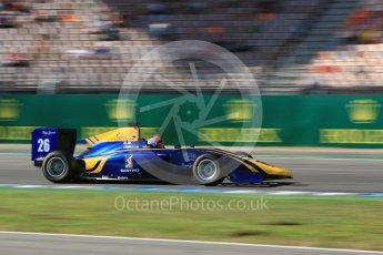 World © Octane Photographic Ltd. DAMS - GP3/16 – Santino Ferrucci. Saturday 30th July 2016, GP3 Qualifying, Hockenheim, Germany. Digital Ref :1666CB5D0093