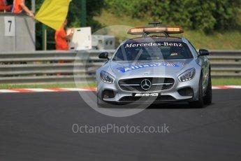 World © Octane Photographic Ltd. Mercedes AMG GTs Safety Car. Saturday 23rd July 2016, GP3 Qualifying, Hungaroring, Hungary. Digital Ref :1646CB1D7368