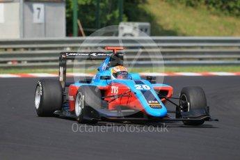 World © Octane Photographic Ltd. Jenzer Motorsport - GP3/16 – Arjun Maini. Saturday 23rd July 2016, GP3 Qualifying, Hungaroring, Hungary. Digital Ref :1646CB1D7503