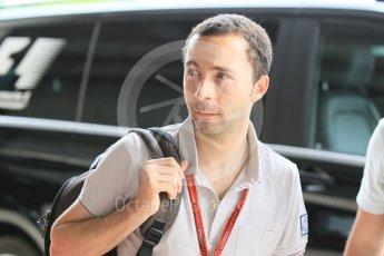 World © Octane Photographic Ltd. Nicolas Todt - Felipe Massa's Manager. Friday 22nd July 2016, F1 Hungarian GP Paddock, Hungaroring, Hungary. Digital Ref :1638CB1D5907