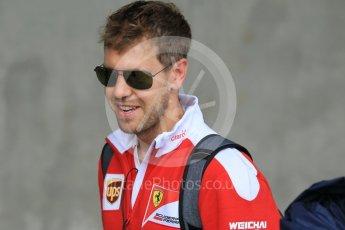World © Octane Photographic Ltd. Scuderia Ferrari SF16-H – Sebastian Vettel. Friday 22nd July 2016, F1 Hungarian GP Paddock, Hungaroring, Hungary. Digital Ref :1638CB1D5928