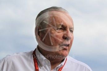 World © Octane Photographic Ltd. Alan Jones (1980 World Champion) - FIA Drivers' Steward. Friday 22nd July 2016, F1 Hungarian GP Practice 1, Hungaroring, Hungary. Digital Ref :1638CB1D5935