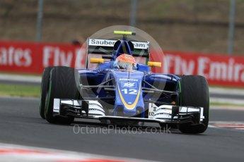 World © Octane Photographic Ltd. Sauber F1 Team C35 – Felipe Nasr. Friday 22nd July 2016, F1 Hungarian GP Practice 1, Hungaroring, Hungary. Digital Ref :