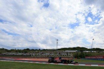World © Octane Photographic Ltd. Scuderia Toro Rosso STR11 – Daniil Kvyat. Friday 22nd July 2016, F1 Hungarian GP Practice 1, Hungaroring, Hungary. Digital Ref :