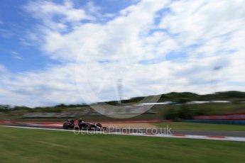 World © Octane Photographic Ltd. Scuderia Toro Rosso STR11 – Carlos Sainz. Friday 22nd July 2016, F1 Hungarian GP Practice 1, Hungaroring, Hungary. Digital Ref :