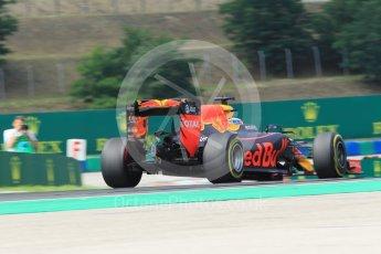 World © Octane Photographic Ltd. Red Bull Racing RB12 – Daniel Ricciardo. Friday 22nd July 2016, F1 Hungarian GP Practice 2, Hungaroring, Hungary. Digital Ref : 1641CB1D6798