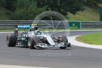 World © Octane Photographic Ltd. Mercedes AMG Petronas W07 Hybrid – Nico Rosberg. Friday 22nd July 2016, F1 Hungarian GP Practice 2, Hungaroring, Hungary. Digital Ref : 1641CB1D6975