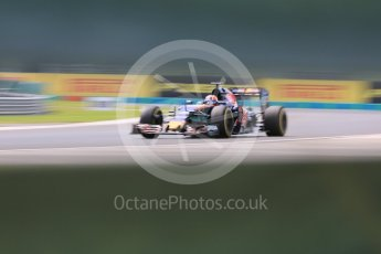 World © Octane Photographic Ltd. Scuderia Toro Rosso STR11 – Daniil Kvyat. Friday 22nd July 2016, F1 Hungarian GP Practice 2, Hungaroring, Hungary. Digital Ref : 1641CB5D6920