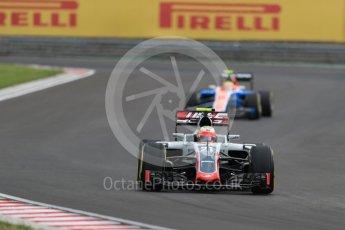 World © Octane Photographic Ltd. Haas F1 Team VF-16 - Esteban Gutierrez. Friday 22nd July 2016, F1 Hungarian GP Practice 2, Hungaroring, Hungary. Digital Ref : 1641LB1D1487