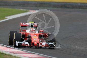 World © Octane Photographic Ltd. Scuderia Ferrari SF16-H – Kimi Raikkonen. Friday 22nd July 2016, F1 Hungarian GP Practice 2, Hungaroring, Hungary. Digital Ref : 1641LB1D1509