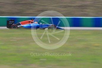 World © Octane Photographic Ltd. Manor Racing MRT05 – Rio Haryanto. Friday 22nd July 2016, F1 Hungarian GP Practice 2, Hungaroring, Hungary. Digital Ref : 1641LB1D2006